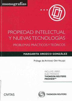 https://flic.kr/p/vB5oPm | Propiedad intelectual y nuevas tecnologías : problemas prácticos y teóricos / Margarita Orozco González ; prólogo, Antonio Orti Vallejo, 2015 | encore.fama.us.es/iii/encore/record/C__Rb2668021
