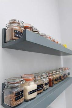 Kitchen Ikea, Diy Kitchen Island, Kitchen Drawers, Kitchen Furniture, Kitchen Layout, Kitchen Decor, Kitchen Peninsula, Kitchen Cabinets, Kitchen Worktop
