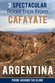 Cafayate is Argentina's off-the-beaten-track wine destination but is also surrounded by amazing landscapes that are best explored by car. I guide you through the most scenic road trips around Cafayate and how to get there, how to get around and what to see! Make sure to read the full story here #cafayate #argentina #travelargentina #roadtrip #roadtripargentina