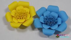 Mary Creative |How to make paper flowers Tutorials #2| handmade | flower...
