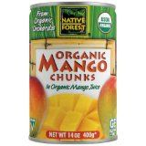 Native Forest Organic Mango Chunks, 14-Ounce Cans (Pack of 6) (Grocery)By Native Forest