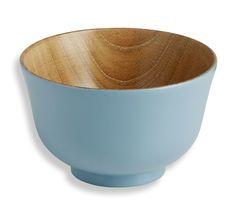 Tigelas : Tigelas em madeira - Azul