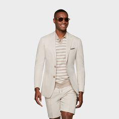 Black And White Style, White Casual, Black Men, Casual Suit, Men Casual, Suit Supply, Groomsmen Fashion, Brown Suits, Slim Fit Jackets