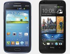Vergelijk Samsung Galaxy Core vs HTC Desire 601 | Versus OS