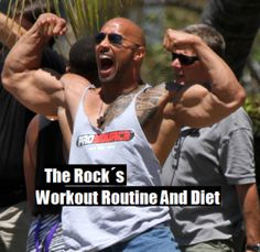 The Rock, Dwayne Johnson's Workout Routine And Diet | BODYBUILDING FACTS