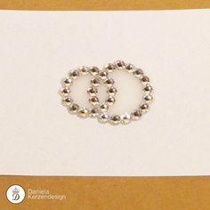 Eheringe aus Swarovski ® Elements klein Swarovski, Bracelets, Jewelry, Fashion, Madness, Moda, Jewlery, Jewerly, Fashion Styles