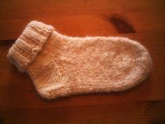 Tricoter chaussettes avec 2 aiguilles