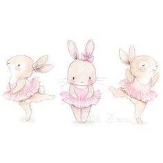 Nursery illustration bunny ballerina illustration obtain Bunny Nursery, Animal Nursery, Nursery Art, Nursery Prints, Ballerina Illustration, Cute Illustration, Website Illustration, Cute Animal Drawings, Cute Drawings