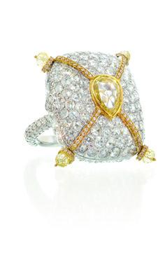 Rosamaria G Frangini | High Diamond Jewellery | TJS | Lugano Diamonds Storybook ring
