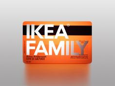 Saved by Margot Gabel (mrgt). Discover more of the best Packaging, Stockholm, Designlab, and Ikea inspiration on Designspiration Ikea Stockholm, Credit Card Design, Member Card, Collateral Design, Identity Design, Vip Card, Special Images, Plastic Card, Gabel