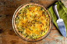 Scallion and Celery Quiche - NYTimes.com
