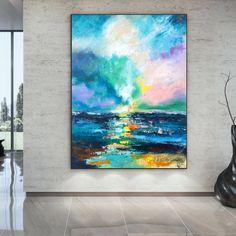 Large Canvas Wall Art, Extra Large Wall Art, Abstract Canvas Art, Bathroom Wall Art, Kitchen Wall Art, Bedroom Paintings, Kids Room Paint, Artist Work, Modern Wall Decor