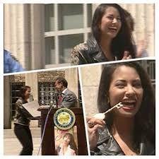 14. Selena recibio la llave de la ciudad en Houston en 1994.