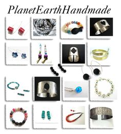 """""""PlanetEarthHandmade"""" by anna-recycle ❤ liked on Polyvore featuring Cadeau and silk"""