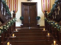 Stunning decoration of our stairs