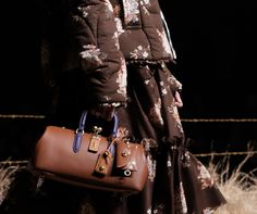 Check Out Our Exclusive Pics of Coach's Pretty, Prairie-Inspired Fall 2017 Runway Bags