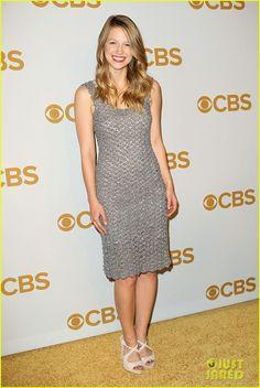 Melissa Benoist & 'Supergirl' Cast Hit the CBS Upfront Together