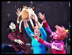 Desucon: Adventure time gender bent group cosplay by *Nekoshiba on deviantART; Costumes & Cosplay