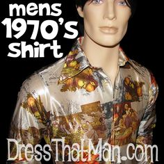1970's Costumes For Men - The REAL Thing, from the 70's baby!