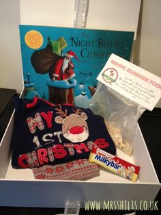 A new Christmas tradition - A Christmas Eve treat box - Life According to Mrs Shilts