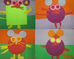 shape mice---mouse paint, if you give a mouse, mouse's first day of school, mouse ANYTHING!!!