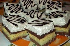 Prăjitură in Trei Culori No Cook Desserts, Cheesecake, Cooking, Drinks, Food, Kitchen, Drinking, Beverages, Cheesecakes