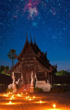 Ton Kwen Temple  Chiangmai ,Thailand