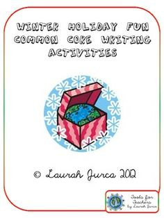 FREE Common Core Winter Holiday Writing Activities for 4th Grade