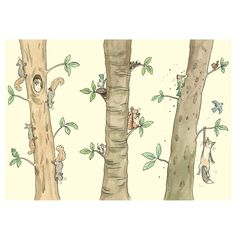M251 LIVING THE HIGH LIFE - Two Bad Mice card by Anita Jeram www.twobadmice.com