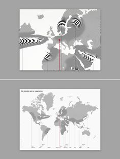Deformation of the distances #infographic