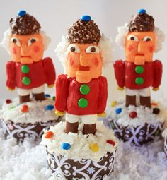 Post image for Nutcracker Cupcake