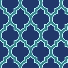 moroccan quatrefoil lattice in peacock fabric by spacefem on Spoonflower - custom fabric