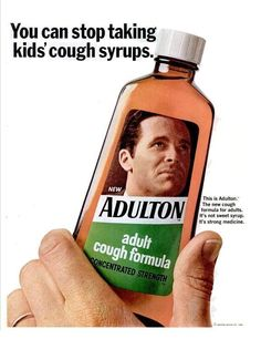 1966 Adulton Cough Syrup