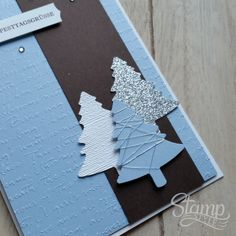 Diy Christmas Cards, Christmas Crafts, Xmas, Stamping Up Cards, Diy Hacks, Cardmaking, Projects To Try, Presents, Handmade