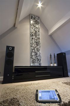 Crestron remote controls the Linn music system