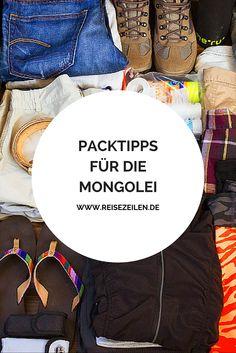 Letztes Jahr war ich drei Wochen in der #Mongolei unterwegs. Hier findest Du meine #Packtipps, was Du für einen Trip dabei haben solltest.