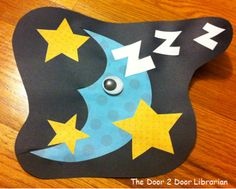 Sleep. Moon. Stars. Bedtime. Storytime. Preschool. Library. Home school. Every Child Ready to Read. ECRR.