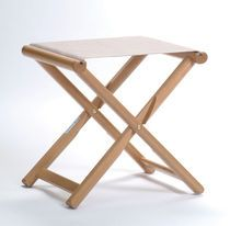 Director's stool or camp stool for towels, etc.