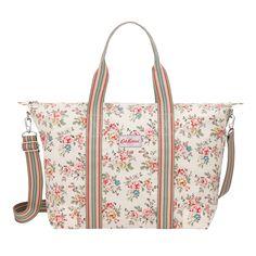 Travel & Weekend Bags | Kingswood Rose Foldaway Overnight Bag | CathKidston