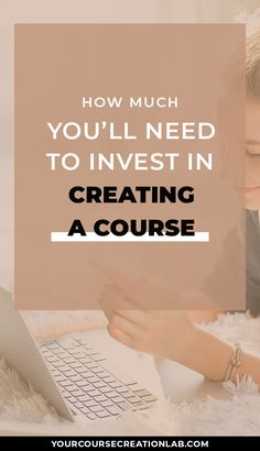 How much does it cost to create an online course? Here's a review of the most important online course expenses to prepare for! Course platform pricing, course management expenses and course creation tools to subscribe for. #coursecreation #courseexpenses #digitalcourse #passiveincome #businessexpenses