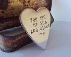 Valentine Gifts for Men My Sun and Stars by CandTCustomLures, $17.00