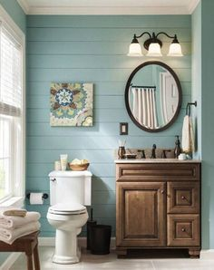 Farmhouse Small Bathroom Remodel and Decor Ideas (16)