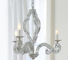Mirrored Chandelier | Pottery Barn Kids