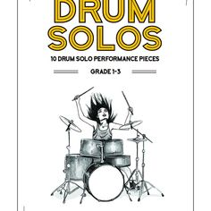 (Premium) - Drum Book PDF - 10 drum solo performance pieces grade - Learn Drums For Free Drum Sheet Music, Drums Sheet, Drum Lessons, Music Lessons, Drum Basics, Learn Drums, Trommler, Drums Beats, Drum Solo