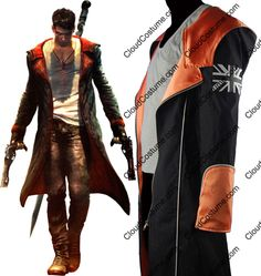 DMC Devil May Cry 5 dante cosplay costume outfit halloween costume