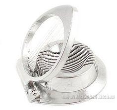 NEW, Commercial Egg Slicer, Mushroom Slicer, Garnish Slicer, Aluminum Cast Frame, Stainless Steel Cutting Wires, http://www.amazon.com/dp/B000HPXBP4/ref=cm_sw_r_pi_awdm_Ub0bvb1B8A7N0