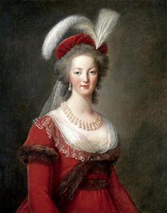 Marie Antoinette - Vigee LeBrun