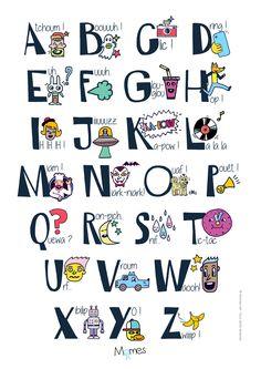 Alphabet et onomatopées