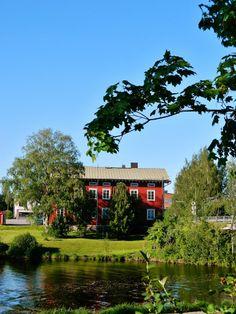 Kosola house, today Herättäjä Association Bookstore. Lapua, South Ostrobothnia province of Western Finland. - Etelä-Pohjanmaa,