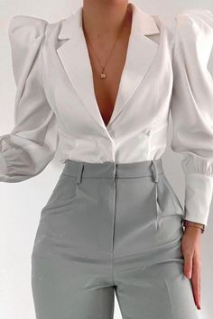 Glamouröse Outfits, Cute Casual Outfits, Pretty Outfits, Stylish Outfits, Fashion Outfits, Elegantes Business Outfit, Elegantes Outfit, Looks Chic, Professional Outfits